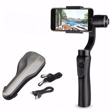 ZHIYUN Smooth Q smartphone Handheld 3-Axis Gimbal Portable Stabilizer action camera for Smartphone iPhone Camera Gimbal zhi yun