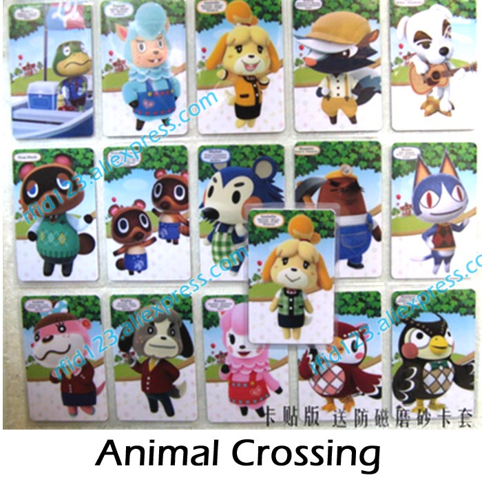 Animal Crossing Card NTAG215 Printed NFC Card Written By Tagmo Can Work For  Switch Latest Data