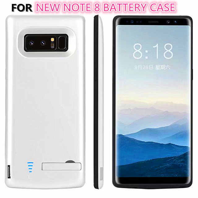 los angeles 1bb3c 93a77 US $25.98 |6500mAh Battery Charger Case For Samsung Galaxy Note 8 Battery  Case Power Bank Pack External Charger Cover Charge Note8-in Battery Charger  ...