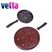 FRYING PAN For pancakes 2 pcs/lot nonstick carbon steel D23*3,5 knife thermos set high quality kitchen cookware sale 846 215