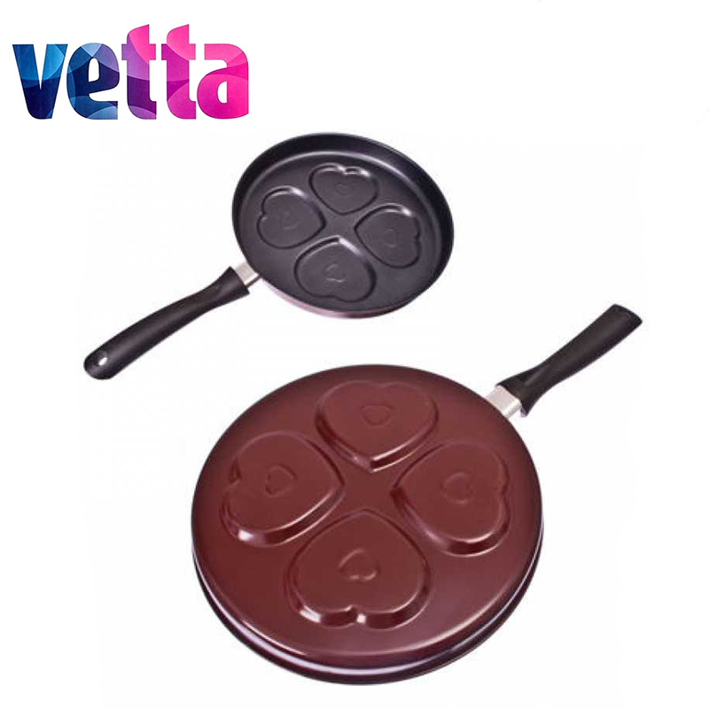 FRYING PAN For Pancakes 2 Pcs/lot  Nonstick Carbon Steel D23*3,5 Knife Thermos Set High Quality Kitchen Cookware Sale 846-215