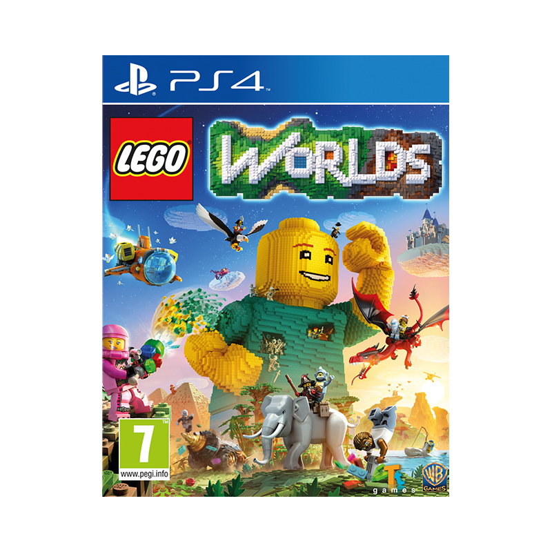 Game Deal PlayStation LEGO Worlds game deal playstation the sims 4