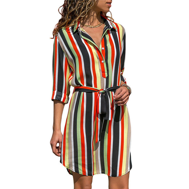 amp;r longues Femme London Fashion Look H Multicolores Robes Mi 80kOPXwn
