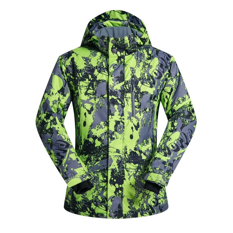 Nouveauté hiver vestes de Ski pour hommes veste de Ski et de Snowboard vêtements de Snowboard épaissir les vestes de neige imperméables chaudes