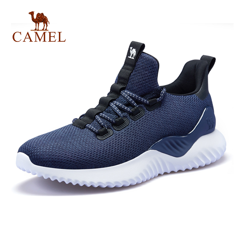 CAMEL Men Women Breathable Running Shoes Outdoor Sports Comfortable Jogging Walking Sneakers
