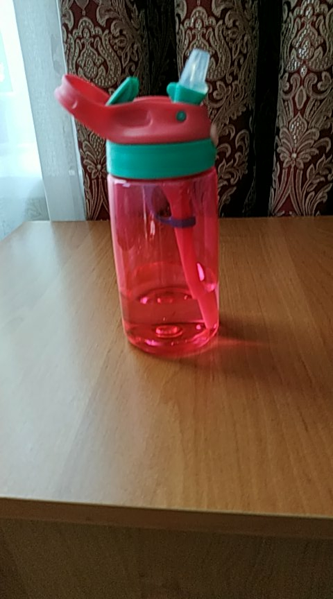 New 480 ml Cute Baby Water Cup Leak Proof Bottle with Straw Lid Children School Outdoor Sport Cool Drinking Bottle Training Cup-in Water Bottles from Home & Garden on AliExpress