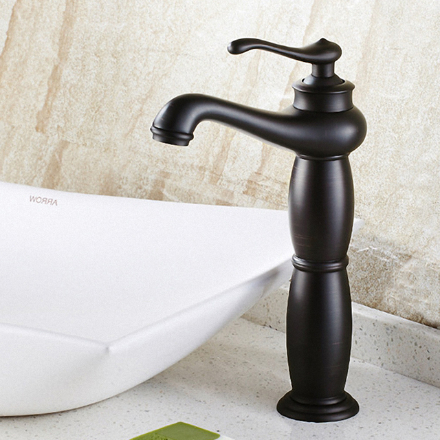 Bathroom Vessel Sink Faucet, Solid Brass, Good for Hotel / Motel ...