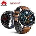 Huawei Ehre Uhr GT GPS Uhr BT4.2 5ATM 2-Woche Batterie Lebensdauer Aktivität Tracker Smart Benachrichtigungen Coaching Outdoor Sport uhr