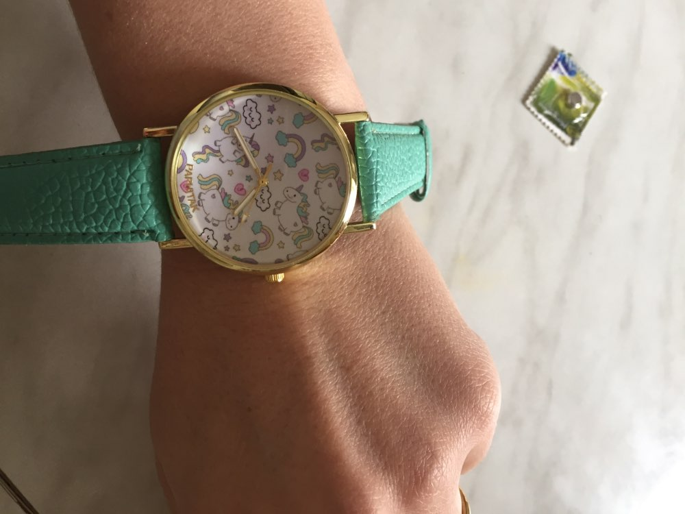 Fashion Cute Unicorn Watch photo review