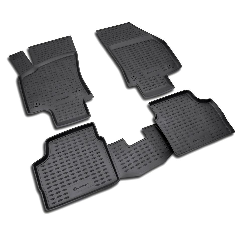 Floor mats for Opel Astra H Sedan 2007-2014 (Element NLC3721210) коврики в салон opel astra h 2007