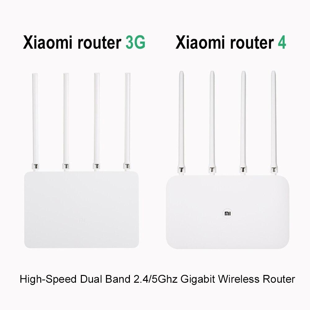 Xiao mi mi routeur wifi sans fil 3G/4 867 Mbps répéteur wi-fi 4 1167 Mbps 2.4G/5 GHz Double 128 MB Bande Flash ROM APP Contrôle - 2