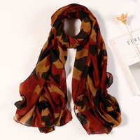 Military Tactical Camouflage Scarf Breathable 90*180cm Headband Scarf Fast Dry Face Veil Women
