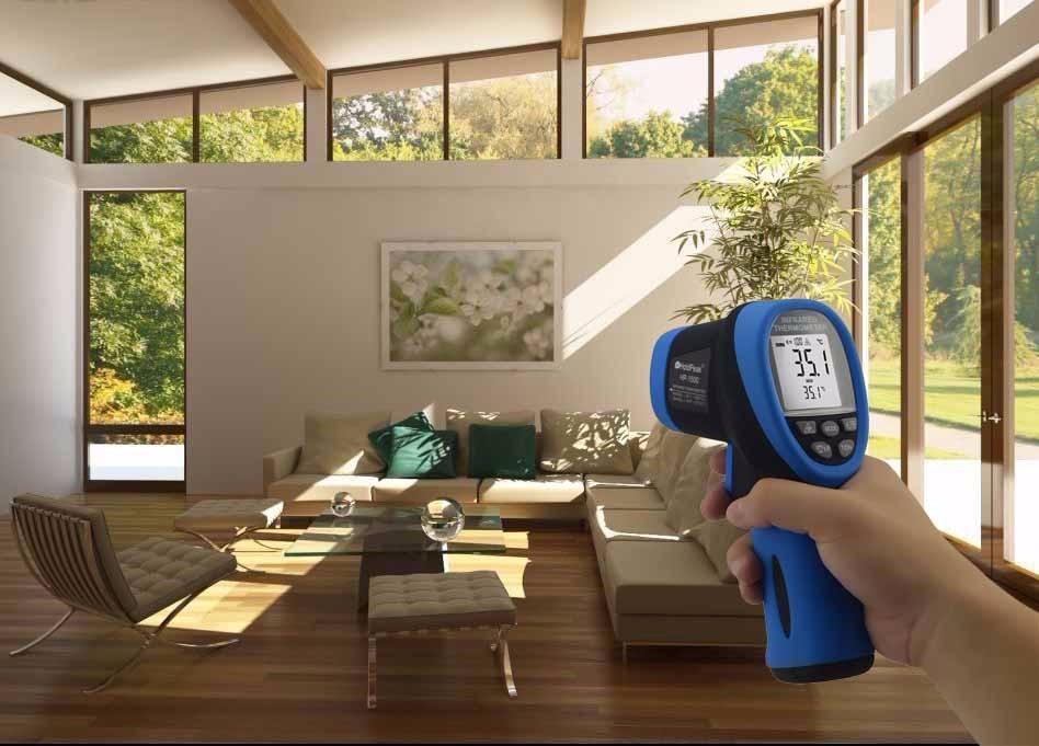 HoldPeak HP-1500 Termometro-50 ~ 1500 Senza Contatto del laser Digitale A Infrarossi Termometro Temperatura Meter Display LCD Termometro