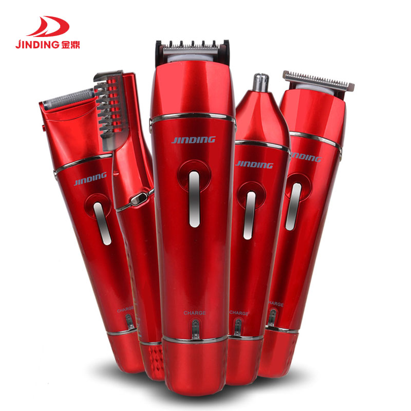 JIDING Rechargeable Hair Trimmer Hair Clipper Electric Shaver Beard Trimmer Men Styling Tools Hair Trimmer Family Personal Care rechargeable hair clipper with accessories set 220 240v ac