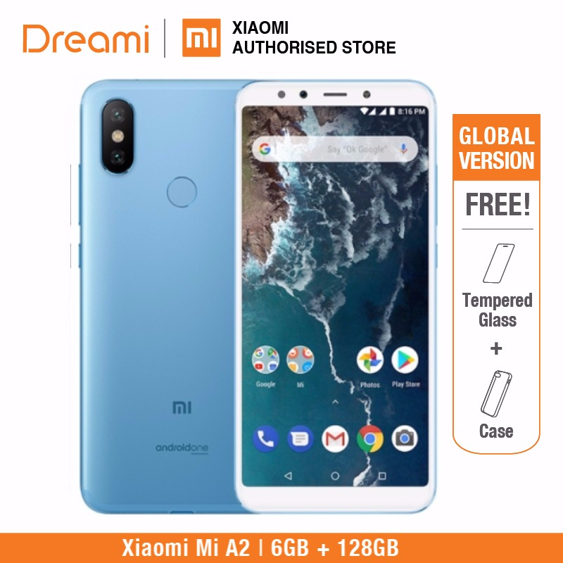 Global Version Xiaomi Mi A2 128GB ROM 6GB RAM (Brand new and sealed) Mia2 128gb