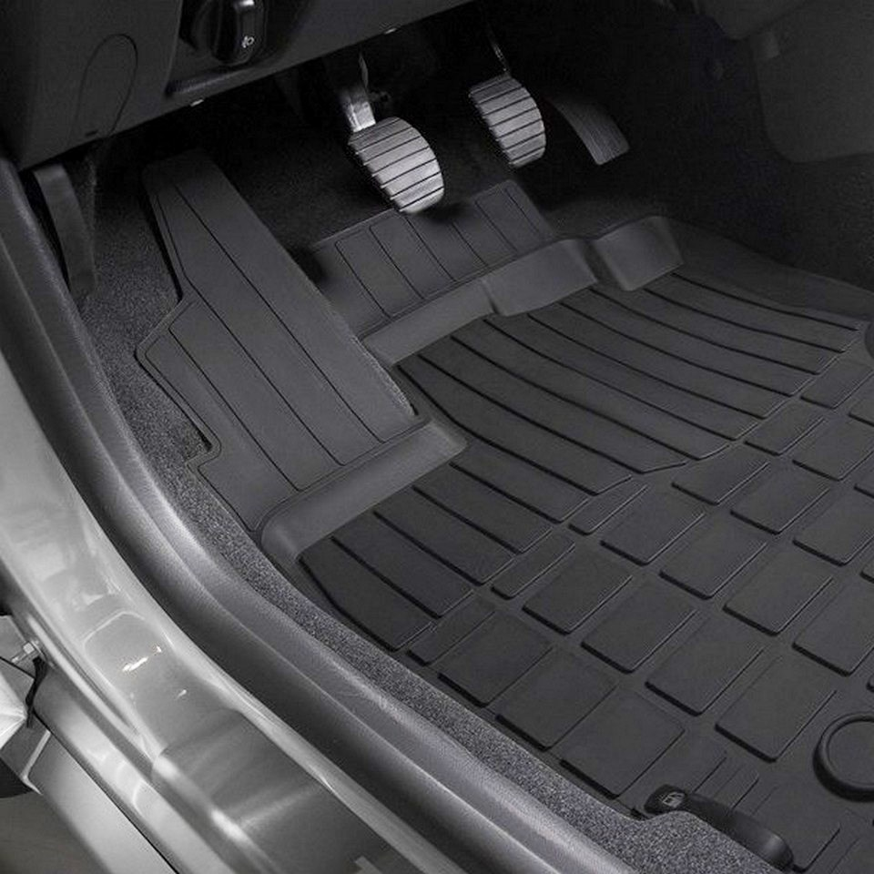 For Renault Duster 2015-2019 rubber floor mats into saloon 5 pcs/set Rival 64701003 for renault duster 4wd 2010 2014 rubber floor mats into saloon 5 pcs set rival 64701002