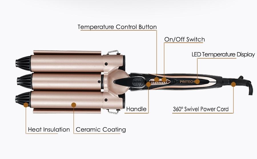 Iron 100 V-240 V Styling de Moda ferramentas