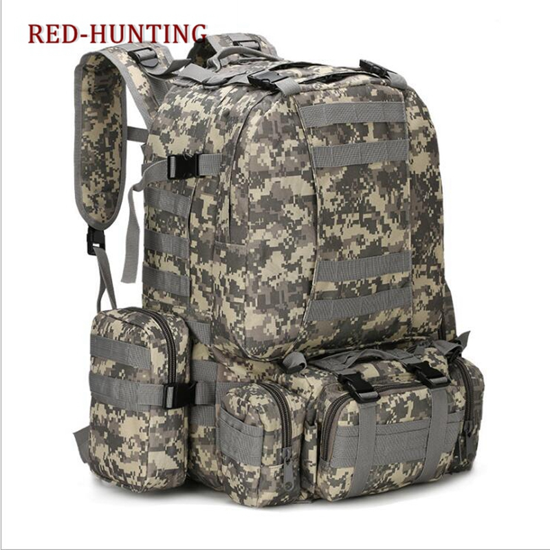 3a0feed11b Detail Feedback Questions about Outdoor 50L Military Rucksacks Tactical Backpack  Assault Pack Combat Backpack Trekking Bag on Aliexpress.com