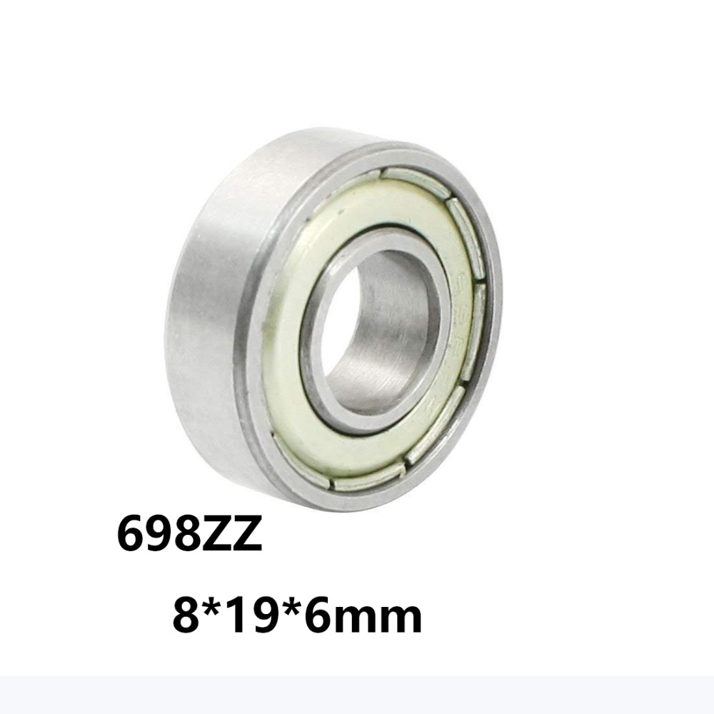 Qty.100 698-ZZ Premium 698 2Z shield bearing 698 ball bearings 698 ZZ ABEC3
