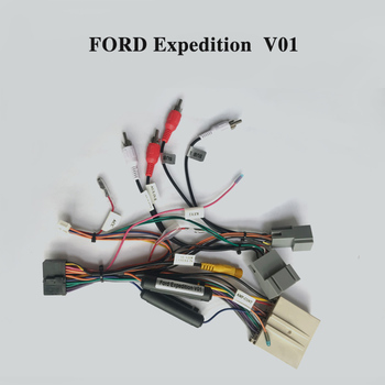 Wiring harness cable for Ford Expedition only for ARKRIGHT Car Radio Android Device
