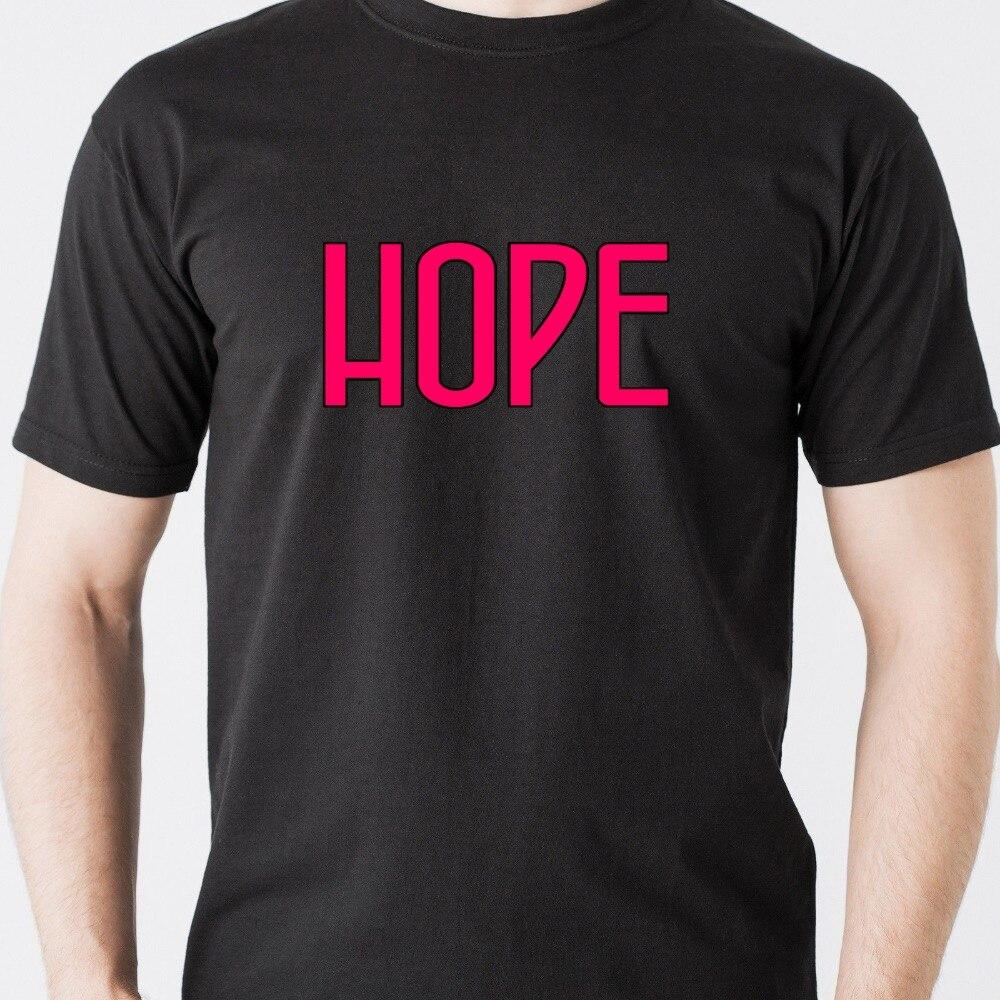 Новое Прибытие новинка дизайн борьба любовь желание надежда рак урожай ретро Забавный Футболка хлопок топ тис