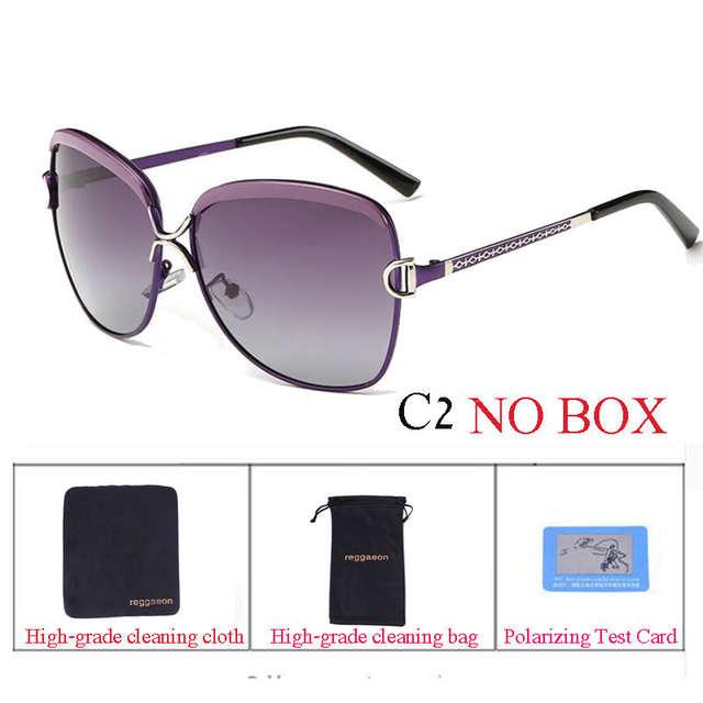 2f3cedaa79f2 2017 reggaeon hot Star Style HD Polarized Women Luxury Sunglasses Brand  Designer Cool latest female UV400