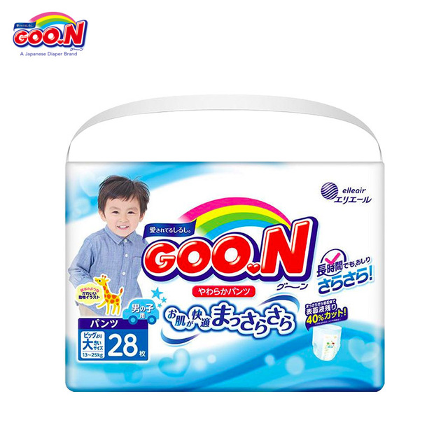 Подгузники GOON Panties Boys 13-25 кг (28 шт.) XXL New Collection