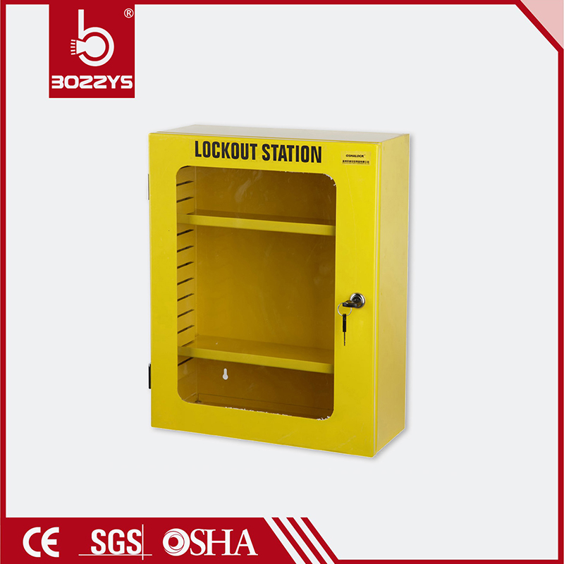 Metal lock cabinet combination package security padlock Safety lock box LOTO Safety Lockout Kit lockout station