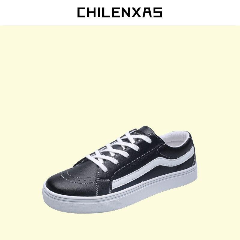 CHILENXAS 2017 Brand Fashion Leisure Men s font b Shoes b font Comfortable Soft Flat Men