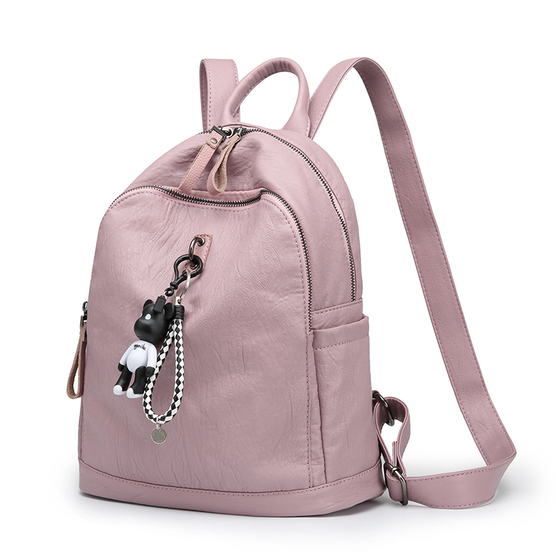 Women Backpack School Bags For Teenagers Girls 2017 Fashion Ladies Student Mochila Brand Designer Leather Plush kanken Backpacks  womens fashion cute girls sequins backpack paillette leisure school bookbags leather backpack ladies school bags for teenagers