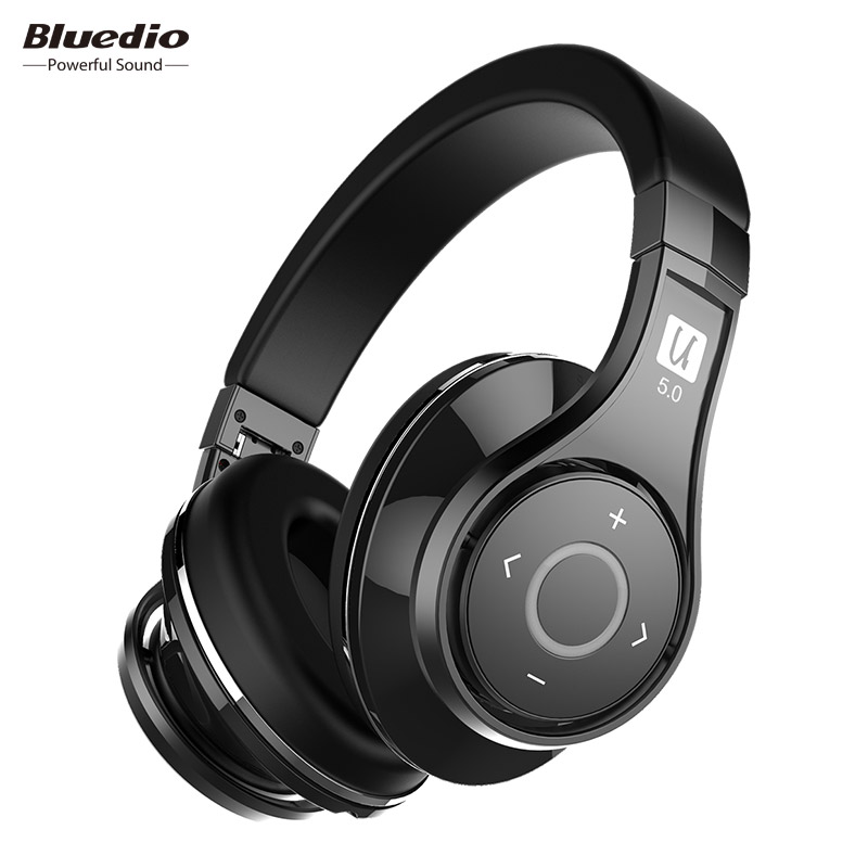 Bluedio U(UFO)2 High-End Bluetooth headphone Patented 8 Drivers HiFi wireless headset supported APTX and Voice Control стоимость