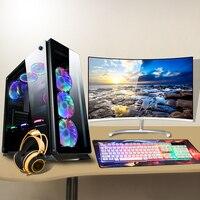 CPU i5/i7 RAM8G/16GB SSD 120GB/240GB/480GB gaming/home/office Desktop PC computer