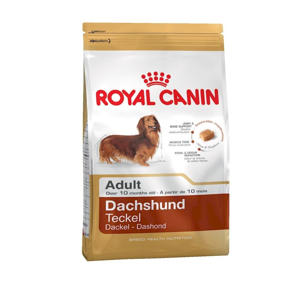 Dog Food Royal Canin Dachshund Adult, 7.5 kg royal canin veterinary diet renal rf 23