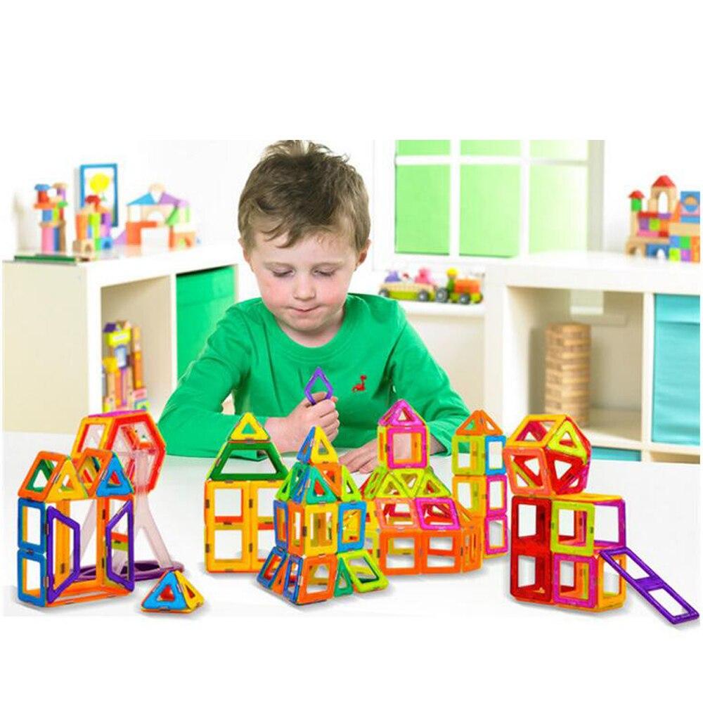 Vluchten Zoeken Magnetische Blokken Mini Magnetische Designer Bouw 3d Model Magnetische Blokken Educatief Speelgoed Voor Kinderen