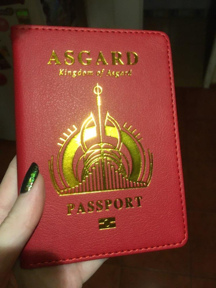 SFG HOUSE Wakanda paspoort Cover Unisex hoogwaardige lederen kaarten houder paspoort houder Hogwarts Asgard paspoort zaak photo review