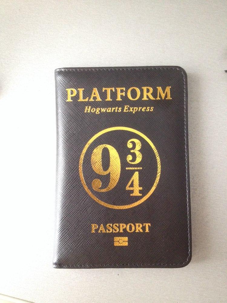 HEQUN Harry Potter Paspoort Cover RFID Pu Leer Hogwarts Express 9 3 / 4 Platform Paspoort Houder HP Passport Case Drop Shipping photo review