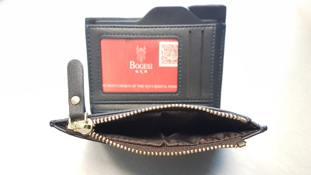 2019 Fashion Purse Wallets for Men with Checkbook Holder Small Money Purses New Design Dollar Slim Purse Money Clip Wallet
