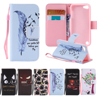 For Coque iPod Touch 6 Cover Case iPod Touch 5 Case Wallet Leather + Soft Silicone Phone Case For Apple iPod Touch 5 6 Case