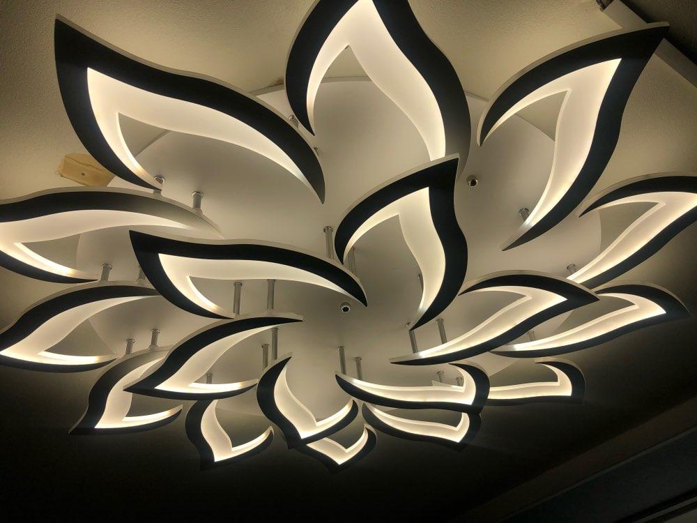 Luzes de teto Branco Branco Plafondlamp