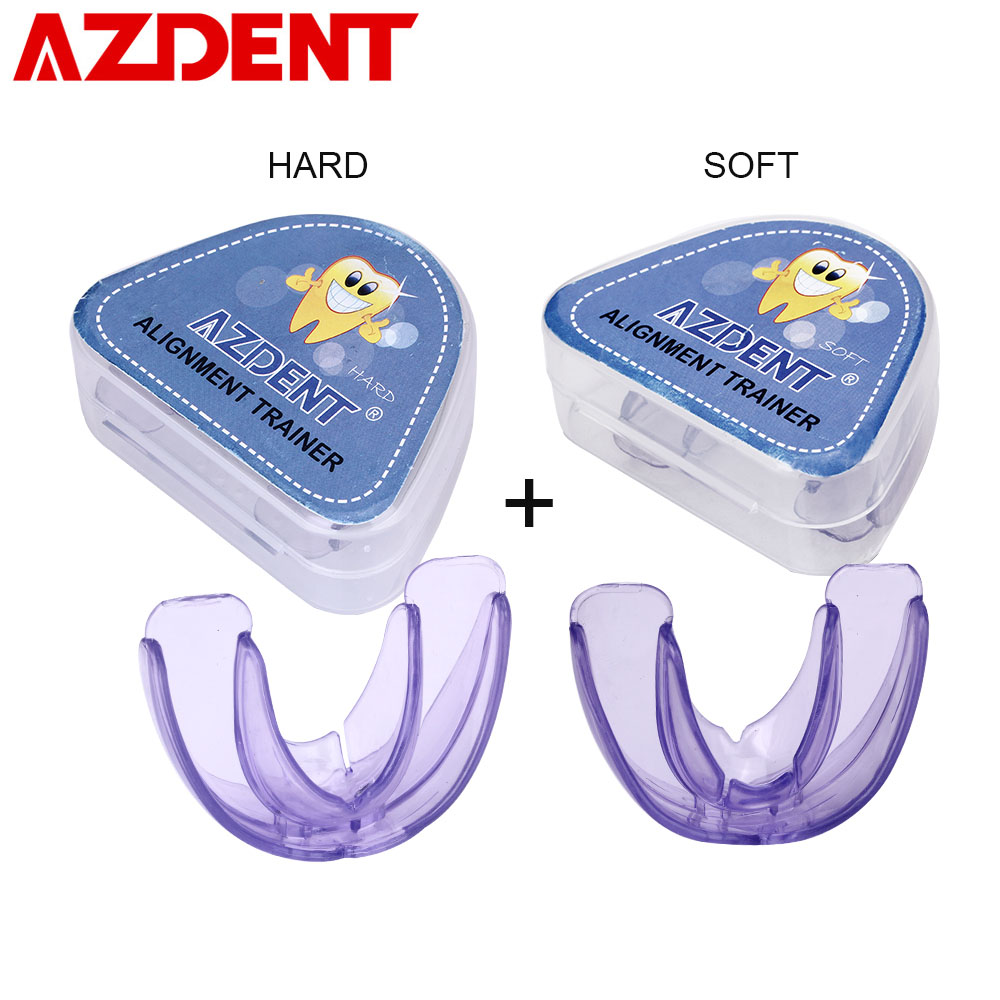 AZDENT Hot Dental Orthodontic Braces Silicone Teeth Retainer Alignment Trainer Tooth Tray Mouth Guard Braces for Children AdultsAZDENT Hot Dental Orthodontic Braces Silicone Teeth Retainer Alignment Trainer Tooth Tray Mouth Guard Braces for Children Adults