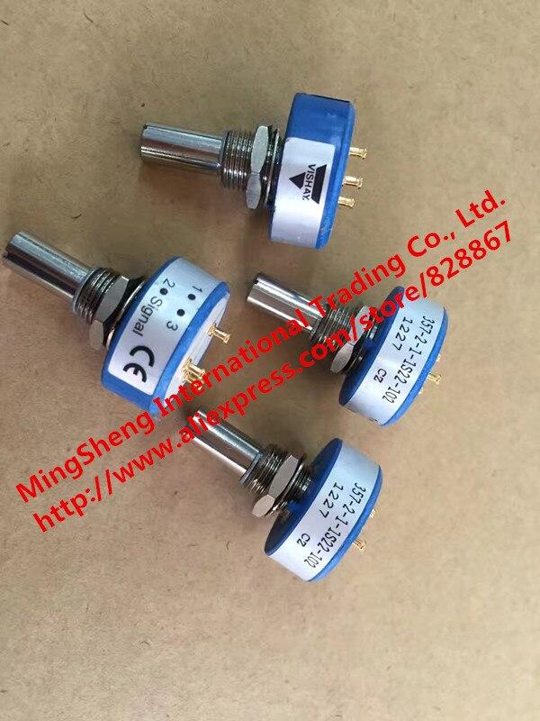Original new 100% import 357-2-1-1S22-102 1K 300 degree single potentiometer (SWITCH)Original new 100% import 357-2-1-1S22-102 1K 300 degree single potentiometer (SWITCH)