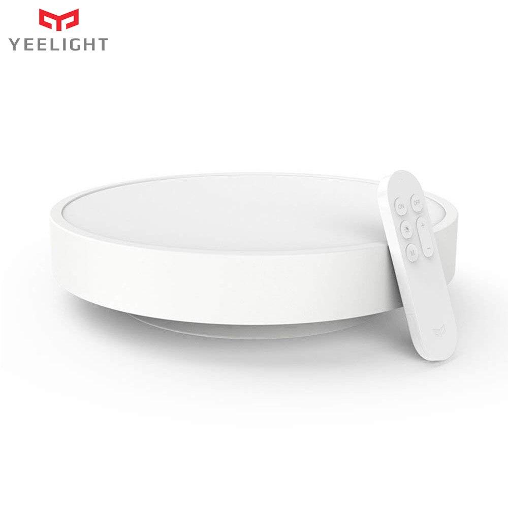 Yeelight умный светодио дный светодиодный потолочный светильник с регулируемой яркостью WiFi/Bluetooth приложение Смартфон пульт дистанционного упр...