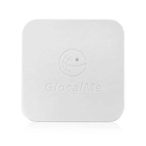 GlocalMe SIMBOX For Multi-SIM Multi-Standby 4 SIM Card Slots Support 2G/3G/4G No Roaming Charges(White)