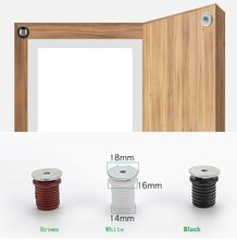 30pcs/lot Built-in Concealing Furniture Cabinet Cupboard Door Magnetic Catch Latch Magnet recessed(China)