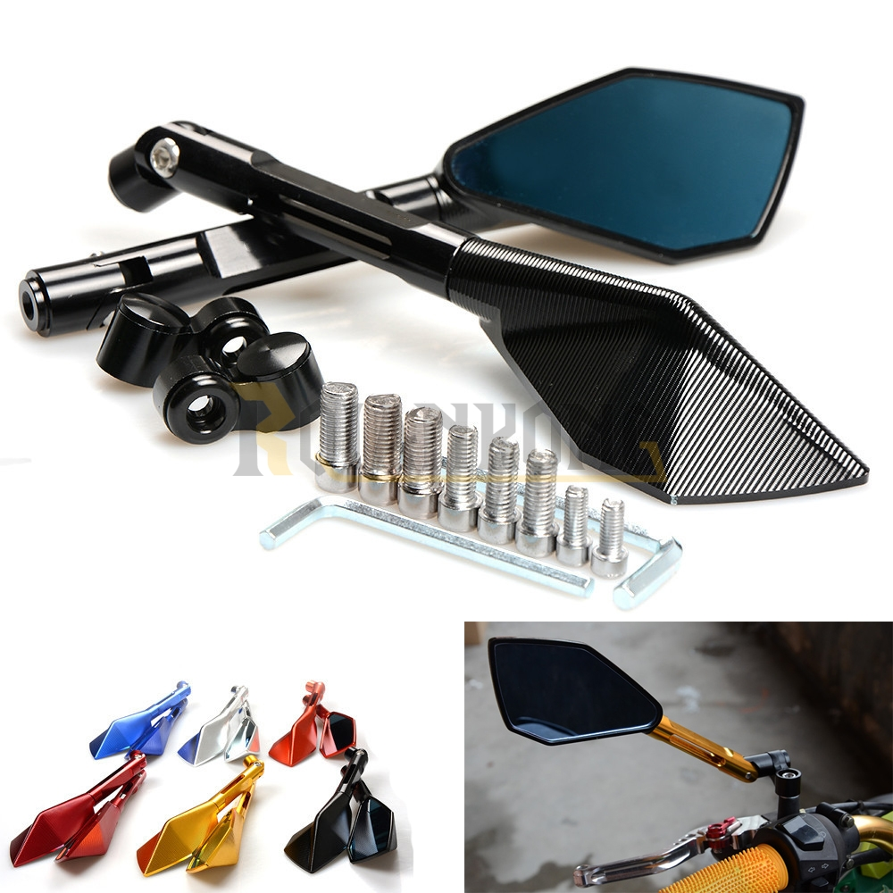 Italy Brand logo mark Motorcycle Rearview side Mirrors CNC Aluminum for BMW F R K 650 700 800 1200 1300 GS R RS Adventure