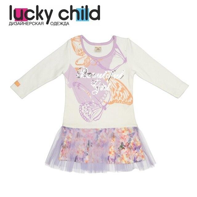 Платья Lucky Child для девочек 55-63 м Сарафан платье детская одежда