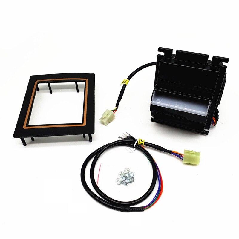Multi банкноты купюроприемником С импульсный RS232 сигнала для THB, попробуйте, ILS и японская иена для коробка с таймером, игровой автомат