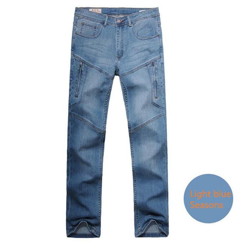 Man jeans men's trousers  men jeans Straight jean clothes Bottoms long pants 28-48