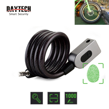 DAYTECH Fingerprint Door Lock Anti Theft Bike Lock for Bicycle/Motorcycle IP65 Waterproof(L06)