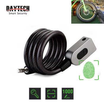 DAYTECH Fingerprint Door Lock Anti-Theft Bike Lock for Bicycle/Motorcycle IP65 Waterproof - DISCOUNT ITEM  51% OFF All Category